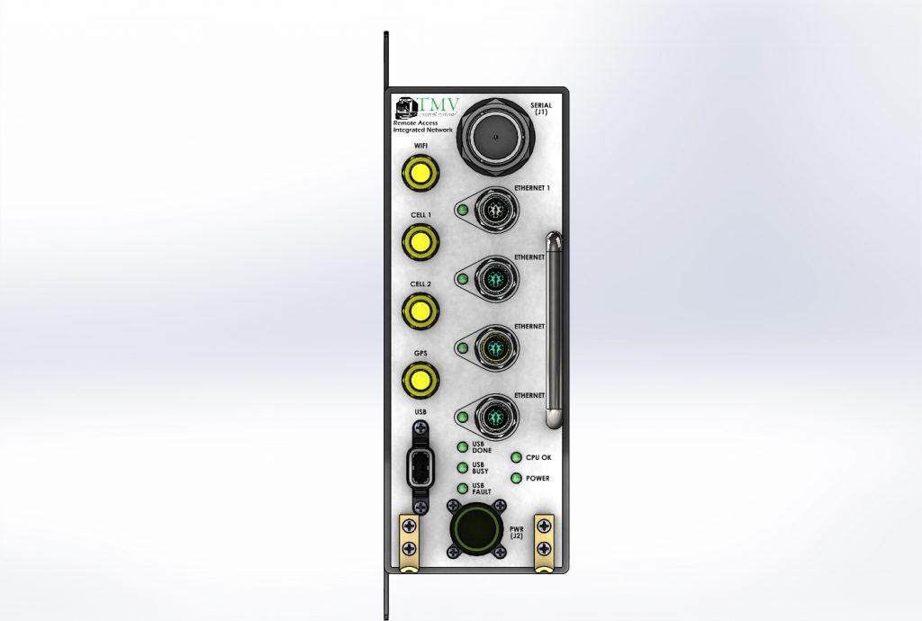 RAIN module inputs, many plug in options, locomotive control system addition