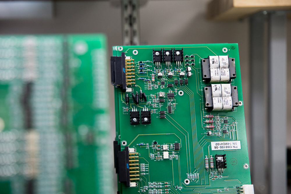Circuit Board for software, designed by Derick Vander Klippe