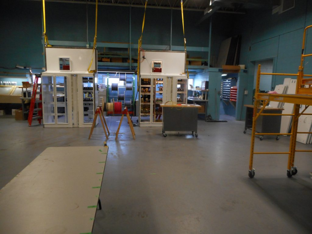 main electrical Cabinet Production Floor