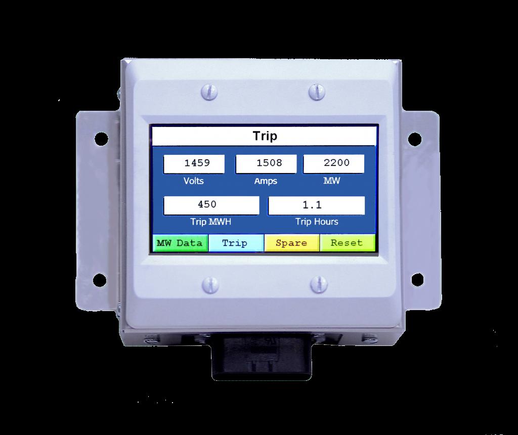 accurate data display, megawatt hours, trip log megawatt data